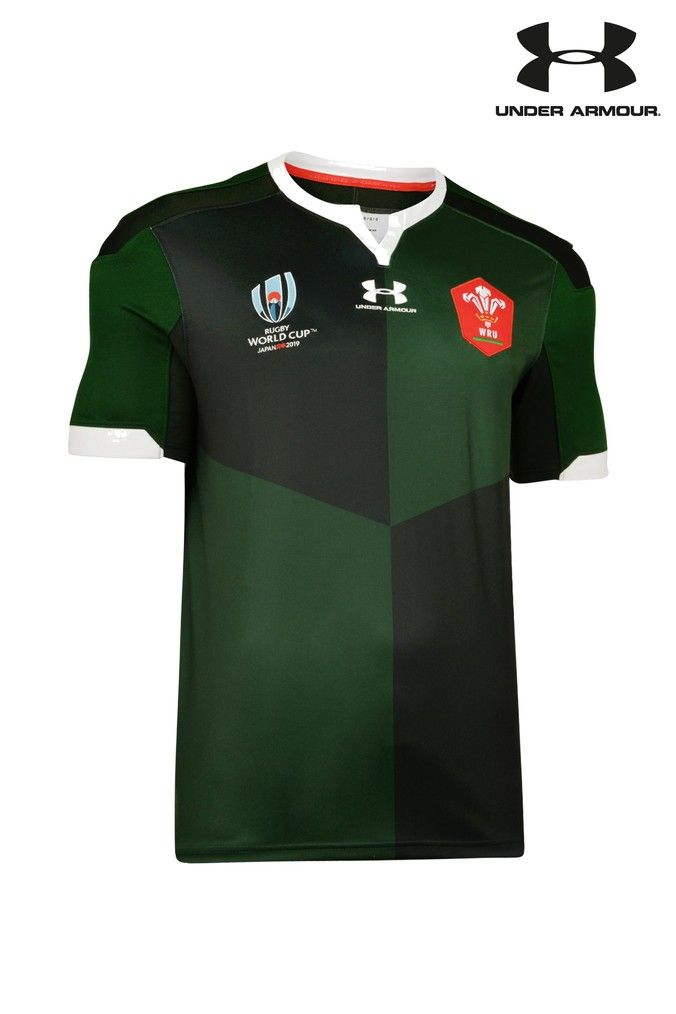Under Armour Wales Wru Rugby World Cup 2019 Jersey Rugby World Cup Rugby Under Armour
