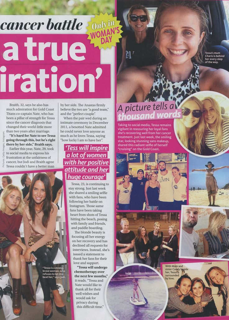 Woman's Day Magazine - Tessa Braith