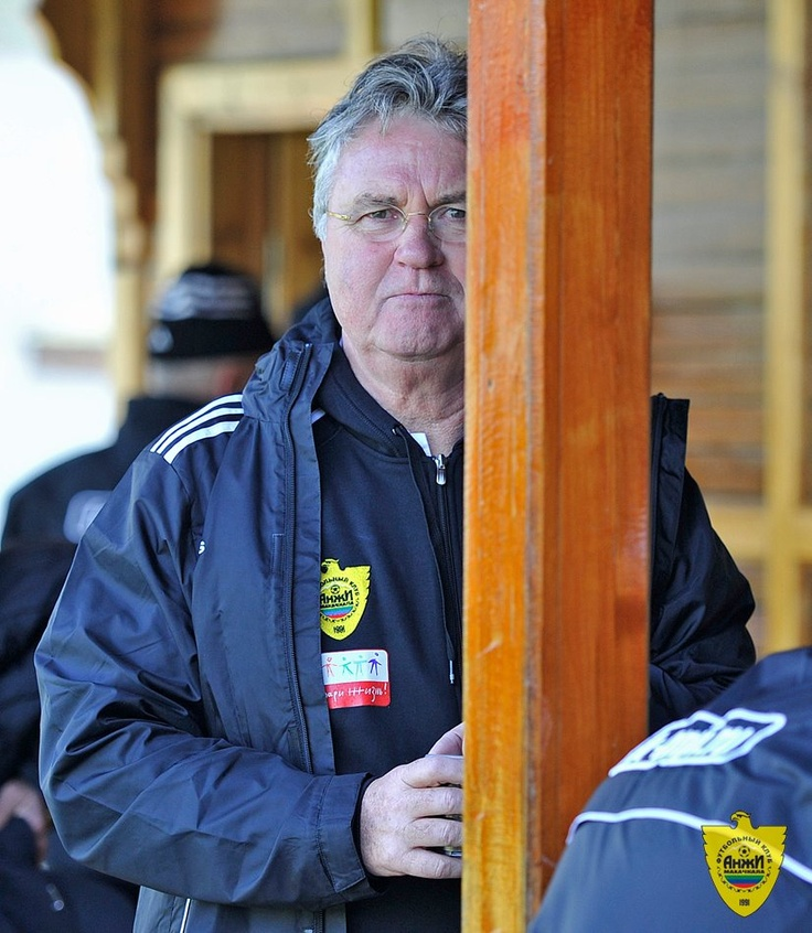 With Guus Hiddink at Kempinski The Dome, Belek.