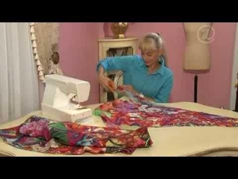 Como hacer un vestido largo estampado - YouTube