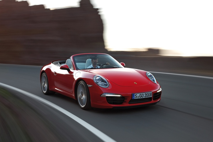 Porsche 911 Carrera S Cabriolet (type 991) - Not in Msia for obvious reasons