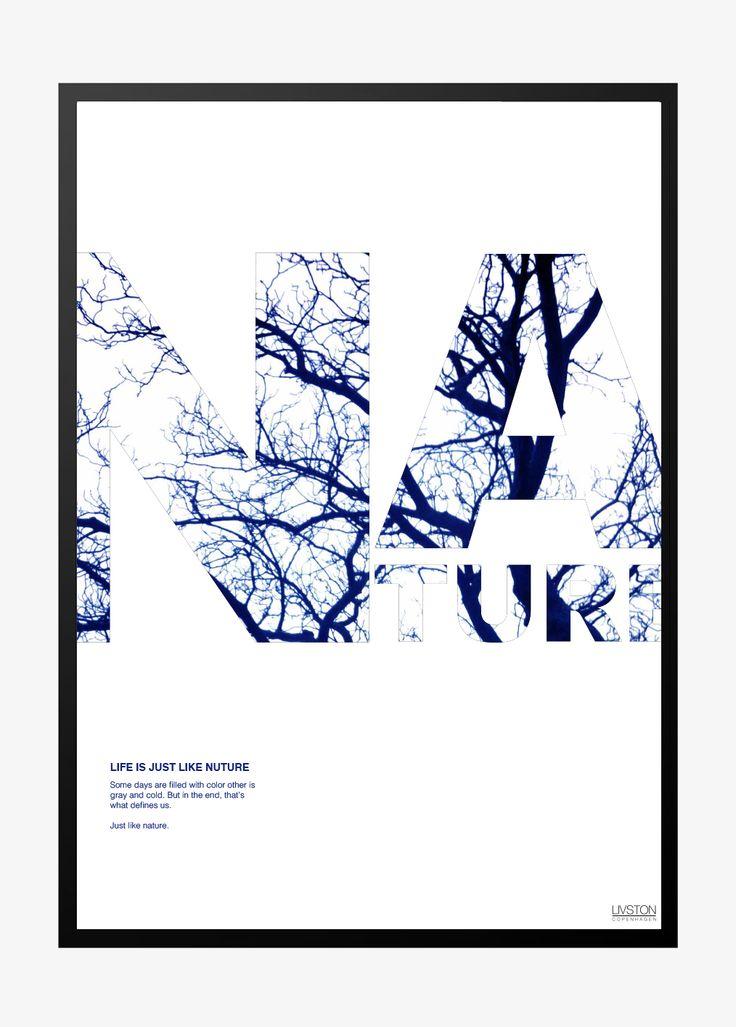 Super fed og stilren plakat – perfekt til alle rum. Plakaten kan købes i 2 størrelser A3 og A4 lige her!