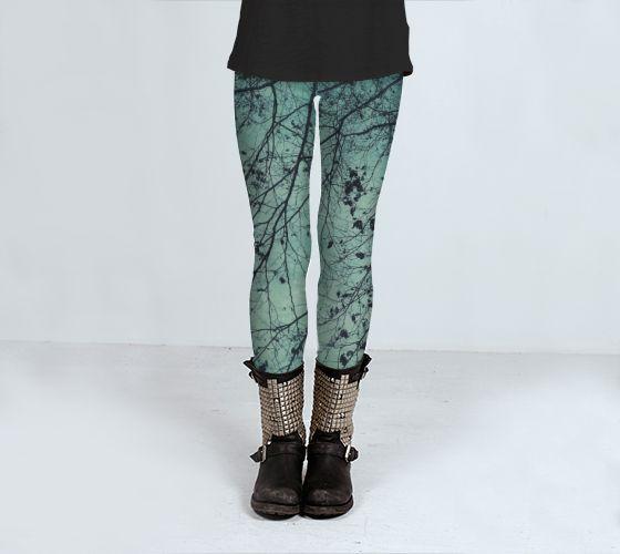 winter tree by Angela Bruno (Leggings) - Art of where #leggings, #trousers, #clothing, #women, #artofwhere