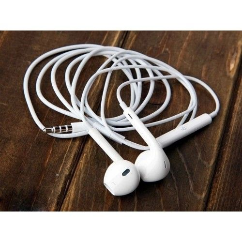 Promotion! Earphones With Mic For Apple Iphone 5s/5/6/plus/Ipad 4 Mini/Ipod 3.5cm Earpod Headphone With Volume Control