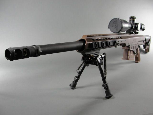 Barrett MRAD in .338 Lapua Magnum with Schmidt & Bender ...