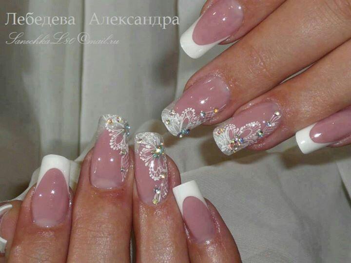 Nail art mariage  Nails  Pinterest  Nail art, Mariage and Art