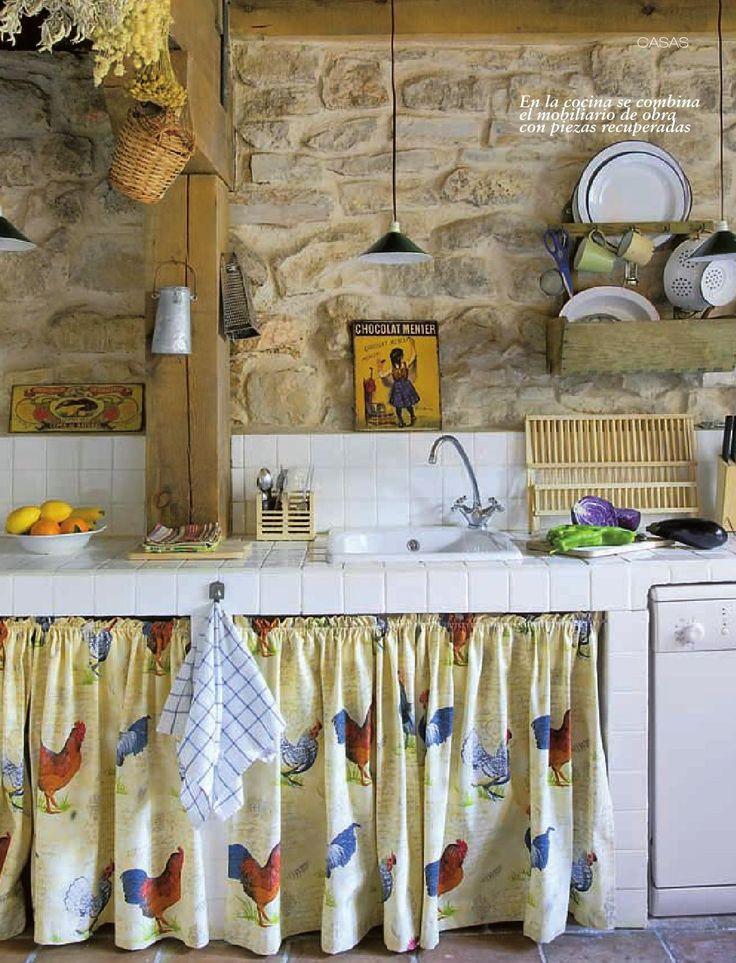 Las 25 mejores ideas sobre cortinas rusticas en pinterest - Casas rusticas decoracion ...