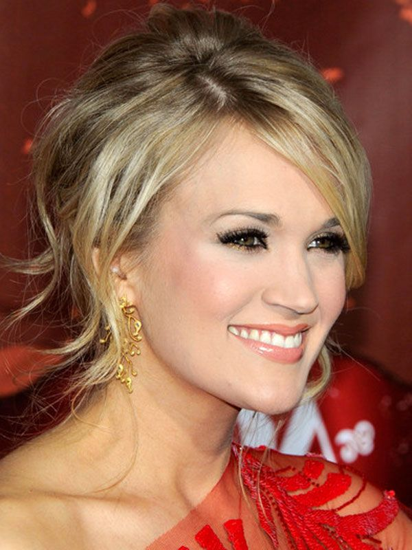 Carrie Underwood - Casual Updos Hairstyles