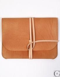 Kenton Sorenson Leather iPad Portfolio - CONTEXT CLOTHING