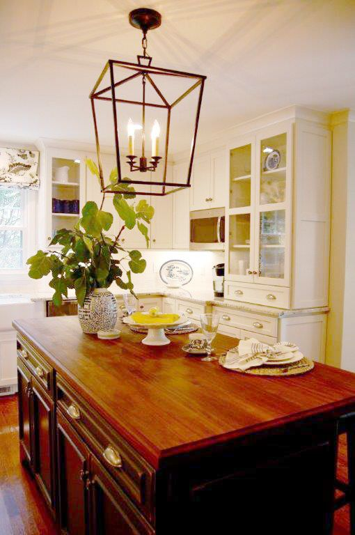 In Greensboro North Carolina A Lifeless Kitchen Was Remodeled Into A Character Filled Kitchen