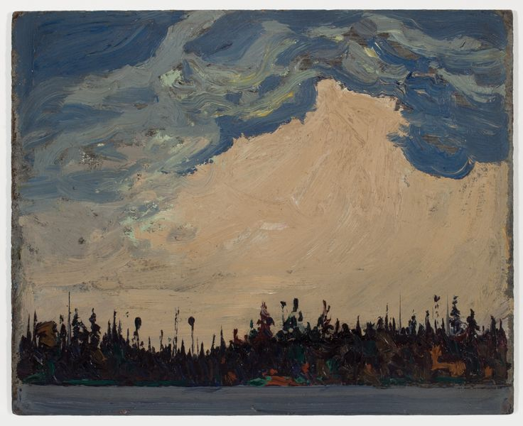Tom Thomson Catalogue Raisonné | November Day, Fall 1915 (1915.123) | Catalogue entry