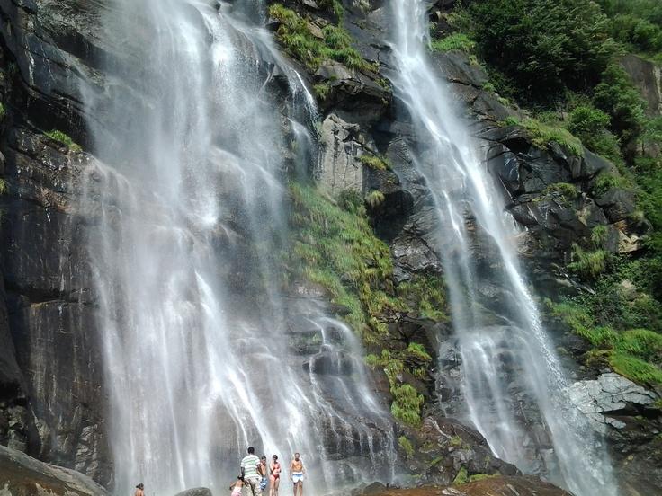 Acquafraggia Waterfalls