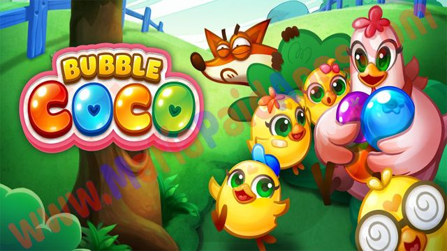 Bubble CoCo v1.6.9.1 [Mod] Apk for Android   Aim your bubble cannon and blast away!  Shoot bubbles with your trusty bubble shooter and pop your way to victory!  CoCo the mother hen knows her baby chicks are a handful...they get into sticky situations on a daily basis! CoCo is one special chicken though: she owns a fancy magic bubble shooter cannon. She requests your help in her bubble popping adventure so she can rescue her troublemaker baby chicks stuck in bubbles and treetops! Aim shoot…