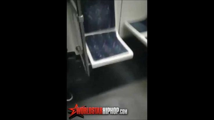 Girl beats down Guy on Subway! ( Must Watch)