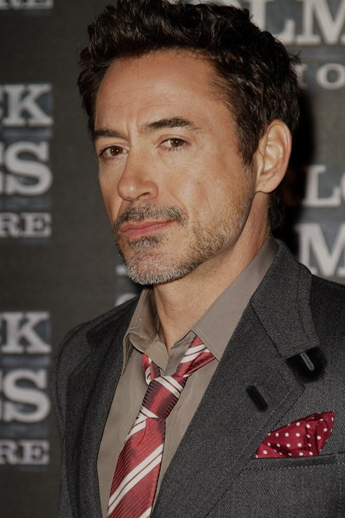 "Robert Downey Jr. at the Rome premiere of ""Sherlock Holmes: A Game of Shadows"""