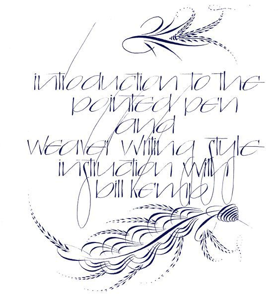 Escribiente Calligraphy Society - Workshops
