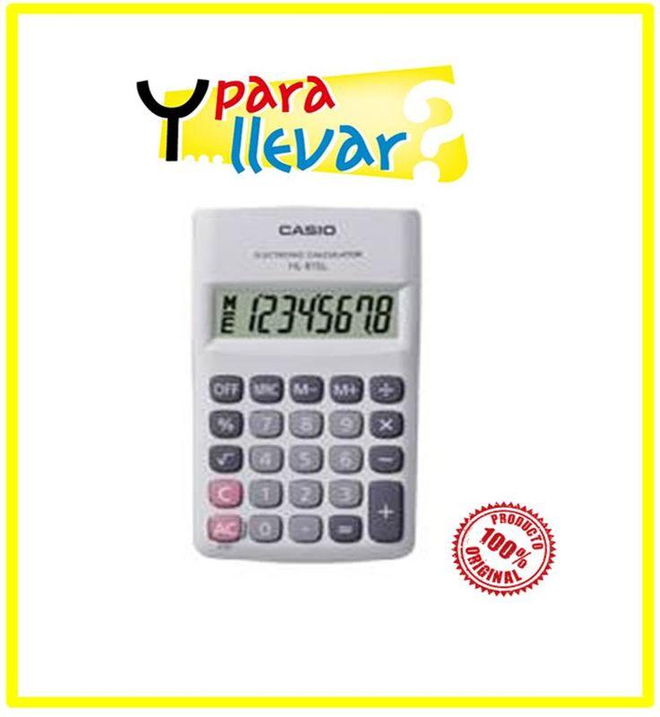 Calculadora CASIO Bolsillo HL 815L-WE #YParaLlevar $7.500