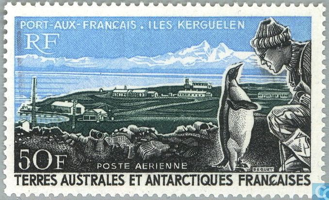 Postage Stamps - French Southern and Antarctic Lands - Port-aux-Français (Kerguelen Islands)