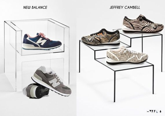 sneakers collage - Hybrida blog new balance jeffrey cambell