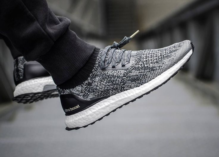 "sweetsoles: "" Adidas Ultra Boost Uncaged - Core Black/Grey (by Seth Hematch) """
