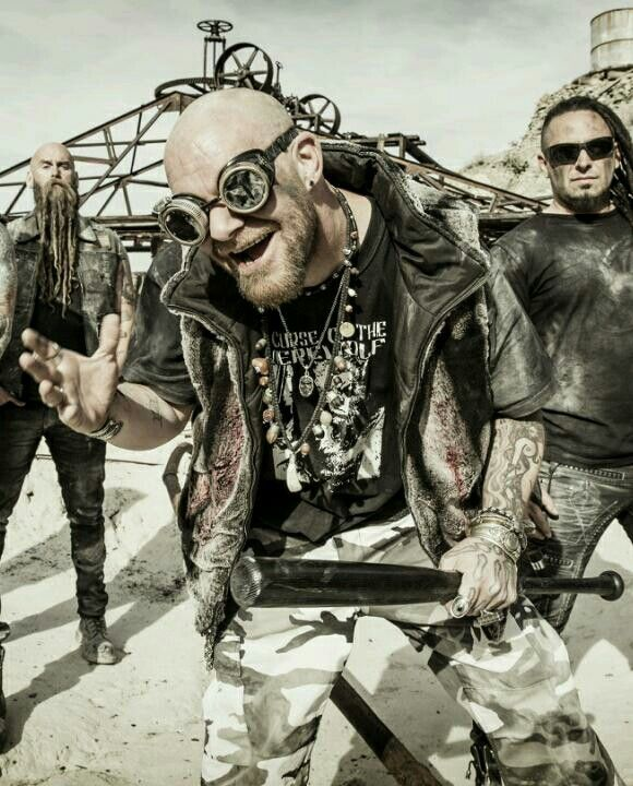 Chris Kael, Ivan Moody, Zoltan Bathory