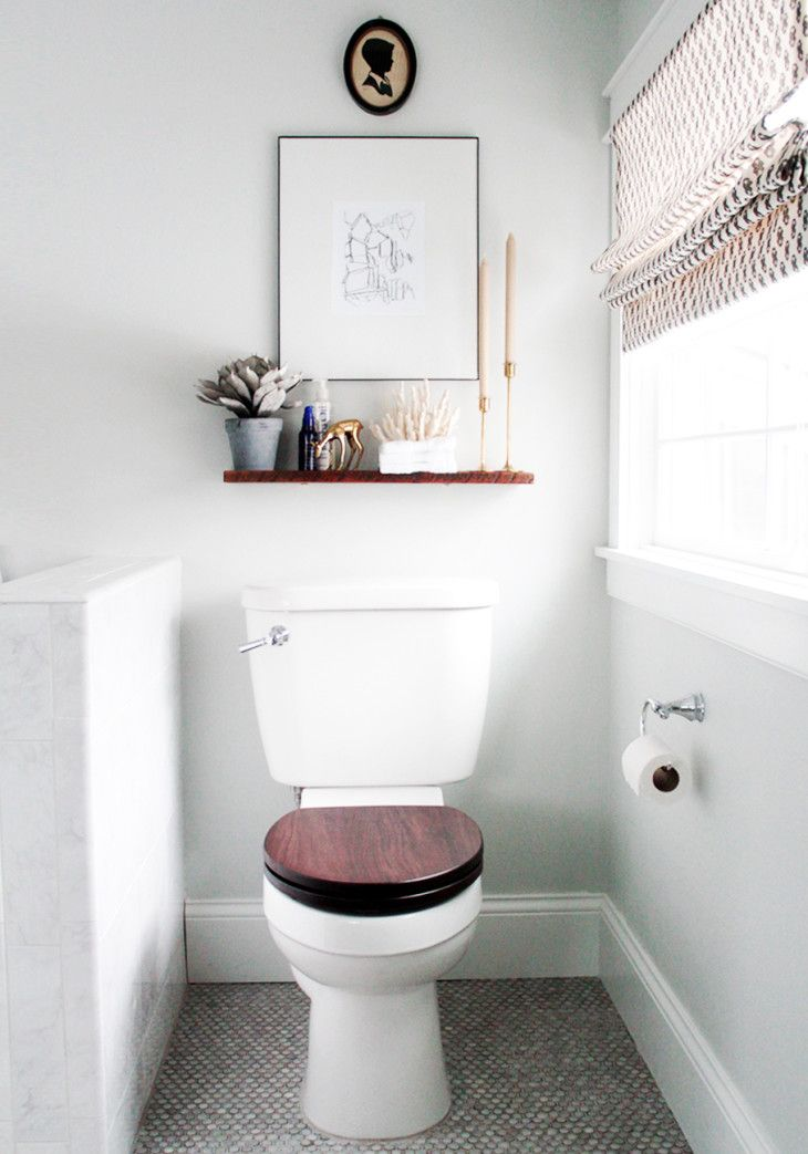 Banheiros Pequenos Fotos E Truques Para Decorar Com Estilo Toilet Idemall Bathroom