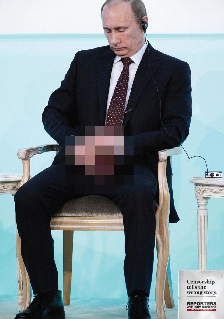 "The Reporters Without Borders ""Pixelated Truth"" advertising campaign- ""Censorship tells the wrong story"""