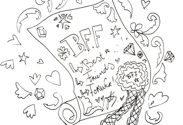 BFF tekening