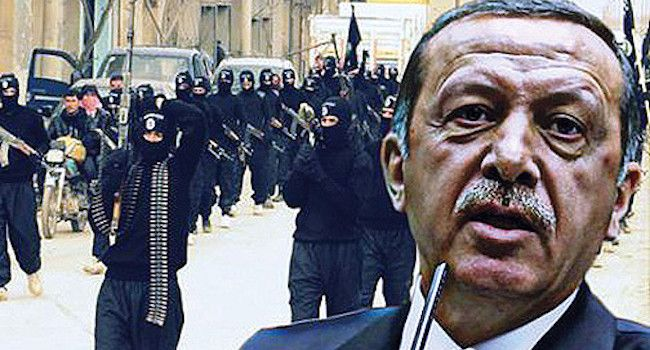 """Turkish President Erdogan declares himself the leader of ISIS, says he hopes for World War 3, one preacher said to me that the """"Bear from the North"""" in end time scriptures wasn't Russia at all.. But it was Turkey.. Hmmm"""