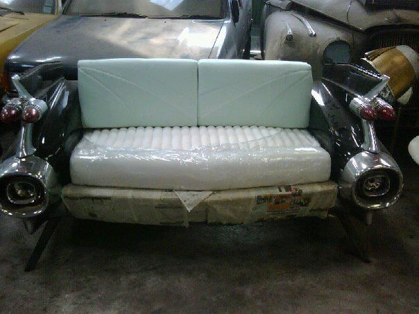 Black and White  Car Sofa Idea NO.5