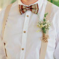 рустик, рустикальная свадьба, жених, букет, бабочка