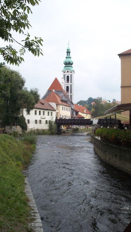 A short drive from České Budějovice, also known as Budweis, is Český Krumlov, a small city best known for its fine architecture & art as well as Český Krumlov Castle.