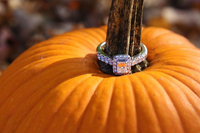 Fall Engagement. Love it. -- Might bring a pumpkin on the 20th Kerri!