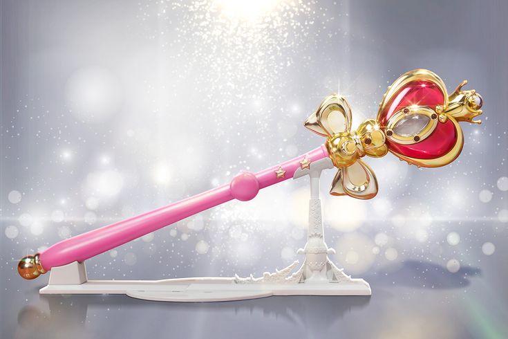 """sailor moon"" ""sailor moon merchandise"" ""sailor moon wand"" ""sailor moon toys"" ""spiral heart moon rod"" proplica bandai anime japan shop"