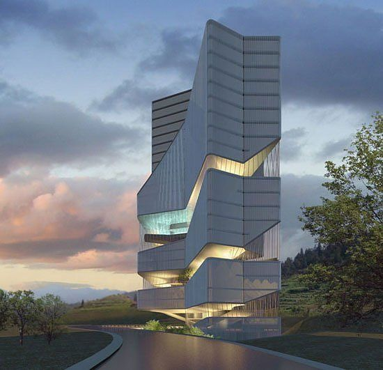 Huaxi city centre of Guiyang, China   Design by Dieguez Fridman