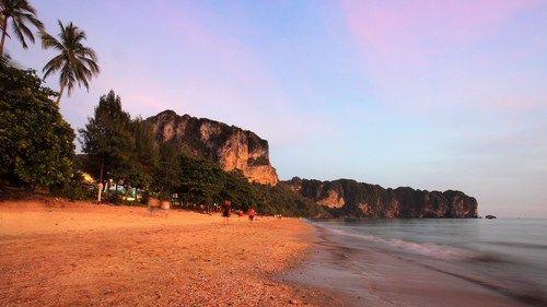 Ban Ao Nang beach sunset