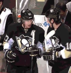 {james neal} fistbump with sid