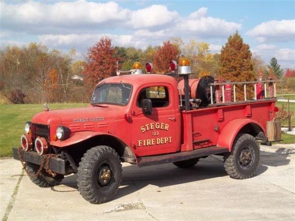 Craigslist Ny Cars And Trucks >> 1948 Dodge Power Wagon Fire Truck | DODGE POWER WAGONS | Pinterest | Trucks, Fire trucks and ...