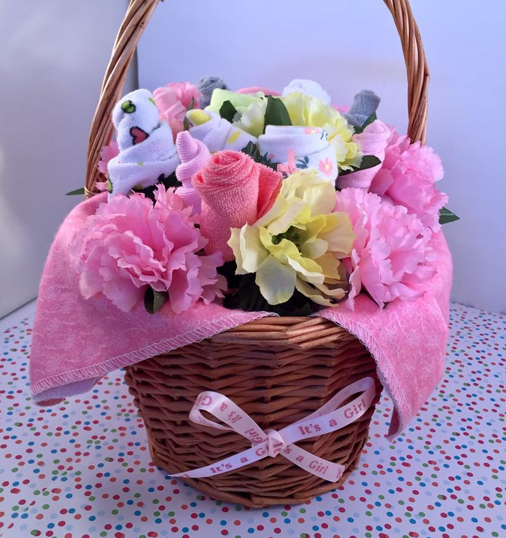 Girl Baby Shower Gift Baskets: 25+ Best Ideas About Girl Gift Baskets On Pinterest