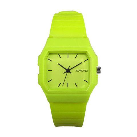 Sweet Apollo #Watch #Lime by Komono