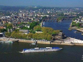 Deutsches ECK in 10 Gehminuten - Mercure Hotel Koblenz
