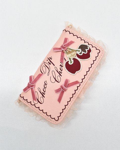 チョコディップチェリーiPhoneケース