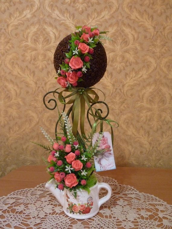 unique giftartificial treeFlower by FlowerKingdomArt on Etsy