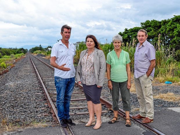"MP's grand plan for Byron Bay rail trail - ""There's a working path, there's a working train and we want a cycle path next to it,"" Ms Tamara Smith, Ballina MP said."
