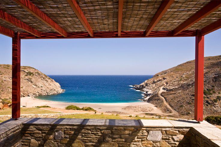 Aegea Blue Cycladic Resort- View from the Gran Blue Villa