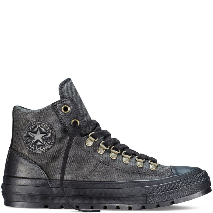 Converse - Chuck Taylor All Star Street Hiker - Black - Hi Top