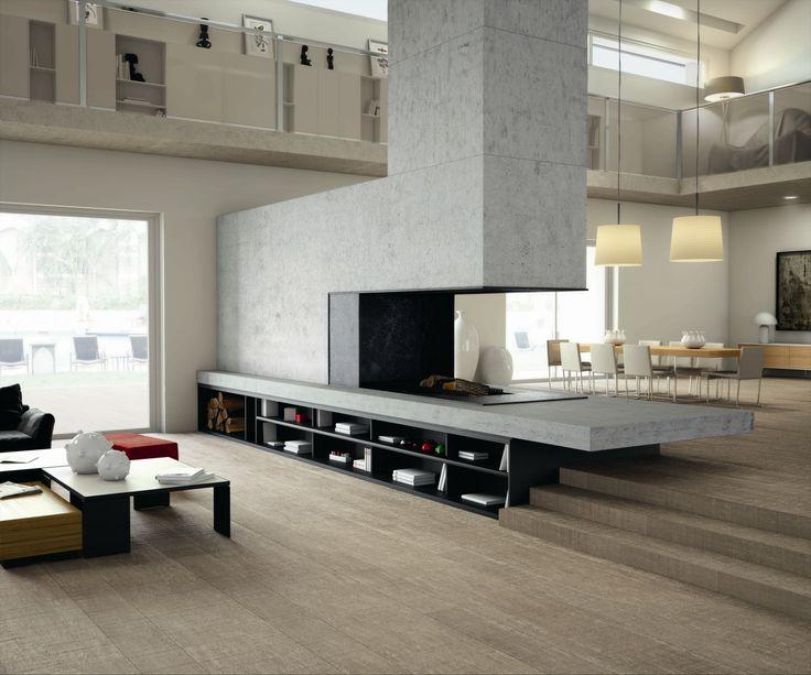 Pavimento/rivestimento in gres porcellanato effetto legno Prints Vestige 2.0 - INALCO - INDUSTRIAS ALCORENSES CONFEDERADAS: PRINTS VESTIGE 2.0