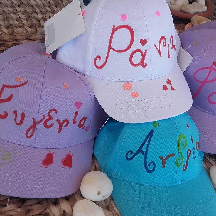 Λευκά , λιλά , γαλάζια....ζωγραφίζονται με πολλή αγάπη !!! Hand painted jockeys name it take it! Exclusively by Ideatoevents.com