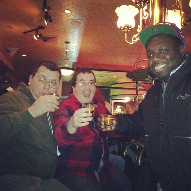 Photo by willr2k - #stpatricksday #jameson with my homies @prp0002 and TA!