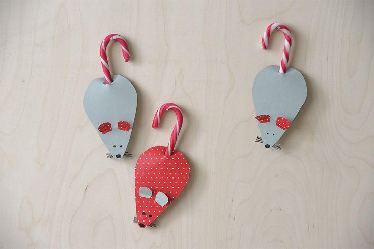 Askartele joulukoristeet lasten kanssa: Syötävän suloiset hiiret | K-ruoka #joulu